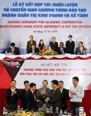 Đại học Duy Tân là một môi trường đào tạo tốt trong khối ngành Kế toán