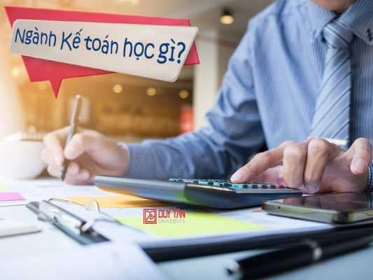 Trường dạy ngành Kế toán